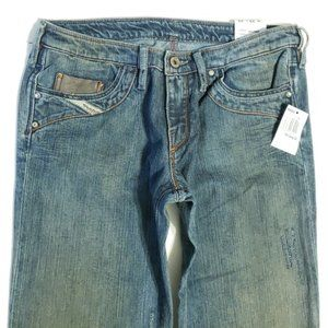 NWT Diesel KYCUT STRAIGHT Faded Jeans 29